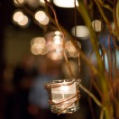 Votives on Curly Willow Branches