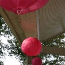 Chinese Lanterns at Outdoor Weddings