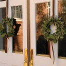 Wreaths on the Doors