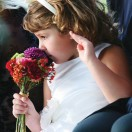 Flowergirl with Bouquet