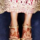 Bride with Henna