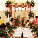 Mandap During the Ceremony